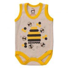 بادی رکابی طرح زنبور - لباس بچه پسرانه