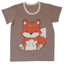 تیشرت آستین کوتاه شابن طرح روباه