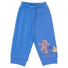 شلوار پسرانه طرح خرس پشمالو آبی