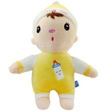 عروسک بچه طرح زرد پستانکی