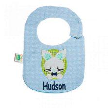 پیشبند گلدوزی کوکالو طرح hudson سایز کوچک - پیش بند نوزاد