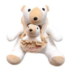 عروسک پاکزاد مدل خرس قطبی