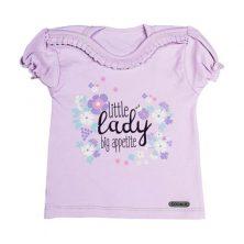 پیراهن آستین کوتاه طرح little lady