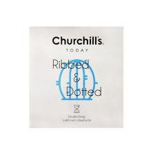 کاندوم چرچیلز مدل Ribbed & Dotted سه عددی