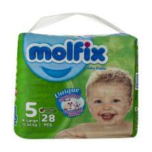 مولفیکس سایز 5 بسته 28 عددی