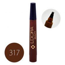 قلم هاشور ابرو لدورا کد 317 حجم 4 گرم